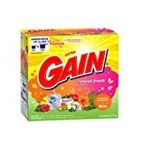 Gain High Efficiency With Freshlock Island Fresh Scent Powder Detergent 80 Loads