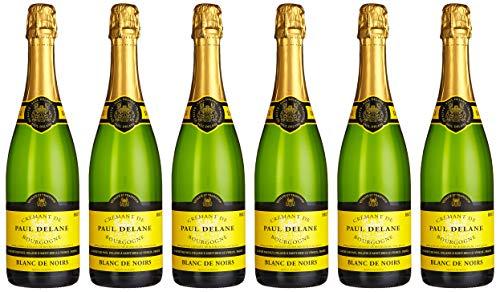 """Crémant de Bourgogne \""""Blanc de Noirs\"""", Paul Delane  (6 x 0.75 l)"""