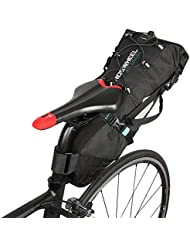 Lixada Bici Borsa Posteriore Bike Bag Bici Sella Pannier Bicicletta Bici da Corsa Mountain Bike Sedile di Coda Regolabile 3L-10L
