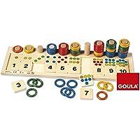Goula - Juego de anillas de colores (Diset 55156)