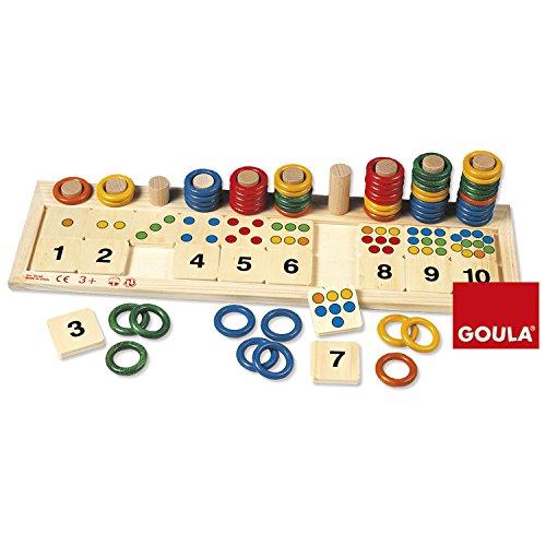 Goula - 55156 - Jeu Éducatif et Scientifique - Anneaux Colorés