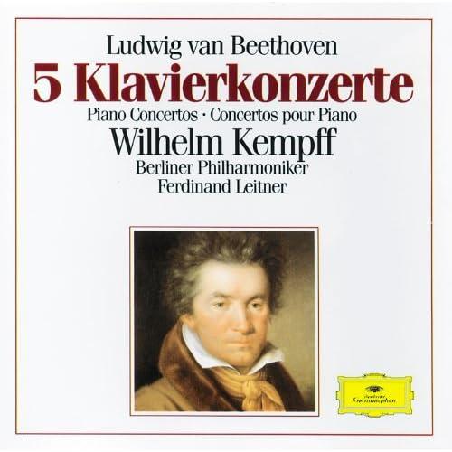 Beethoven: 5 Piano Concertos (3 CD's)