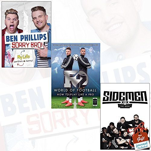 Sorry Bro!, Sidemen The Book and F2 World of Football [Paperback] 3 Books Bundle Collection with Gift Journal - How to Play Like a Pro