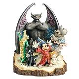 Disney Tradition 4031486 Fantasia Scolpito Resina, Design di Jim Shore, 20 cm