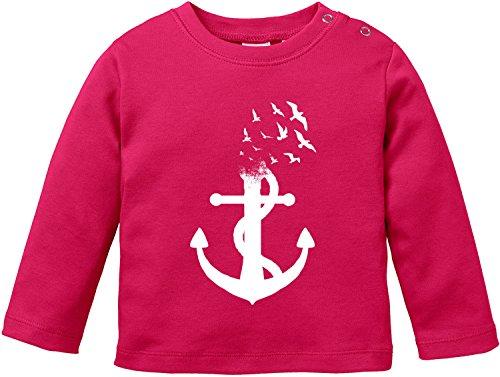 Billabong-strampler (EZYshirt Anker Ocean Baby T-Shirt Longsleeve Bio Baumwolle)