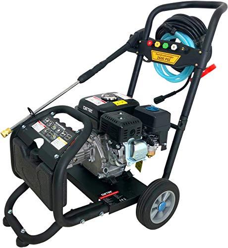 Benzin Hochdruckreiniger Dampfstrahler max. 220 bar - 3000 PSI | 7 PS Motor mit 210 ccm | 5 Düsen inklusive