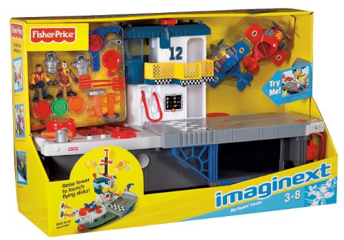 Imagen 6 de Fisher-Price - Imaginext - Portaaviones Héroes del Aire (Mattel)