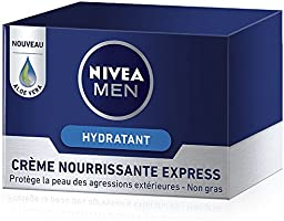 Nivea Men Crème Nourrissante Express 50 ml - Lot de 2