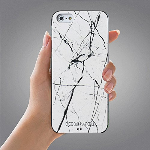 iPhone 5 Cover,iPhone 5s Cover,iPhone Se Cover,Lizimandu Creative 3D Schema UltraSlim TPU Copertura Della Cassa Del Custodia Case Tacsa Protettiva Shell per Apple iPhone 5/5s/se(Un Pene/Colorful Pizzl Marmo Bianco/White Marble