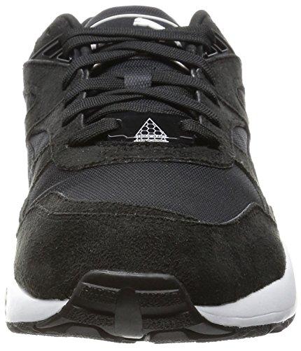 Puma R698, Baskets Basses homme Noir (Black/White)