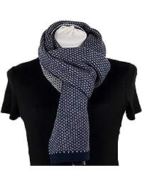 Emila Sciarpa uomo donna elegante casual da autunno inverno a piedipull coprispalle  blu grigia nera pashmina 643a6aa790bf