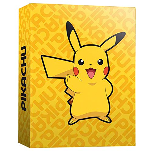Image of Pokemon CA-02-PK A4 Pikachu Ring Binder with 4 Ring