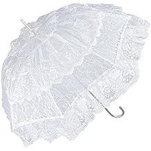 f15080b6fcee VON LILENFELD Ombrello da sposa matrimonio donna Melissa  champagne bianco nero