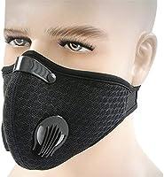 Mascherina antipolvere, antipolvere maschera gas di scarico filtro anti polline allergia con mesh traspirante copertura...