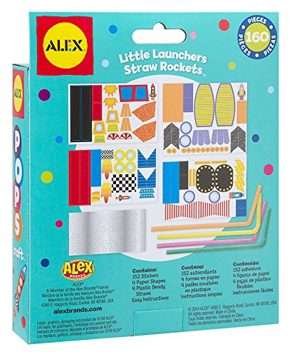 Alex Toys ALEX Toys Craft Pops Little Launcher Straw Rockets