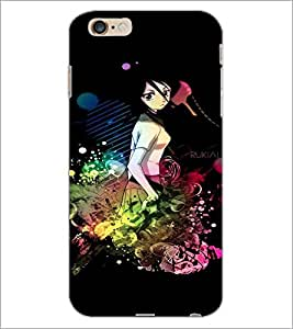 PrintDhaba Cute Girl D-3079 Back Case Cover for APPLE IPHONE 6S PLUS (Multi-Coloured)
