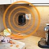 Livington Handy Heater Effektive Keramik Mini Heizung für die Steckdose das TV Original von Mediashop Bild 7