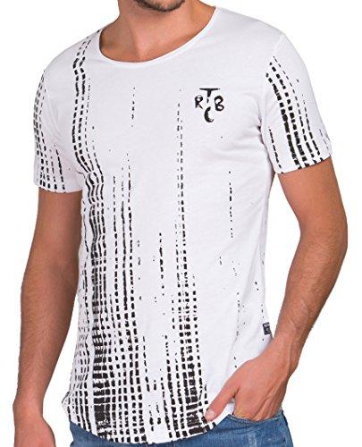 Red Bridge Herren TRBC Oversized T-Shirt Weiß Weiß