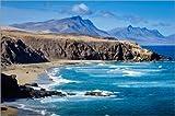 Poster 150 x 100 cm: Fuerteventura - La Pared von Andreas