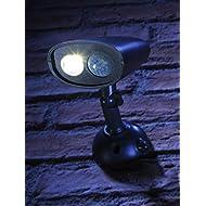 Auraglow Lampe sécurité d'extérieur, sans fil avec détecteur de mouvement à infrarouge (PIR) Lampe de jardin