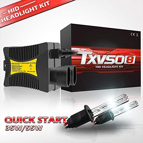 Preisvergleich Produktbild YuCar H1 Auto Kits HID 12000LM Ersatz-Kit für Halogen-Xenon,  6000K Weiß,  110W,  für alle H1-Modelle geeignet,  2 Teile / Satz