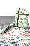#4: Satyam Kraft Gift Wrapping Checks Design Mix Colour Paper, Envelope Making,Card Making, (Pack Of 10)