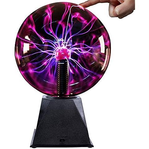 Jago Sfera al plasma sfera lampada plasma sfera al plasma effetto fulmine