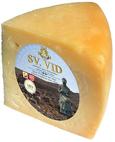 Pager Käse SVETI VID harter Kuhmilchkäse min 300g - Laktosearm - Hartkäse aus Kolan, Insel Pag, Dalmatien Feinkost aus Kroatien mit Meersalz aus der Saline von Pag