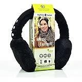 Pare-oreilles Sharon Music | AirPods Bluetooth Noir | Oreillette sans fil Smart | compatible avec Apple iPhone X, Samsung Galaxy S8 et autres