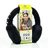Sharon Music Bluetooth Ohrenschützer | Funkkopfhörer Stereo-Lautsprecher-Mikrofon Wireless Earmuff | Smartphone kompatibel | Schwarz