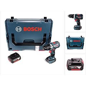 Bosch GSR 18 V-60 C Professional Brushless Li-Ion Akku Bohrschrauber in L-Boxx mit 1x GBA 6,0 Ah Akku