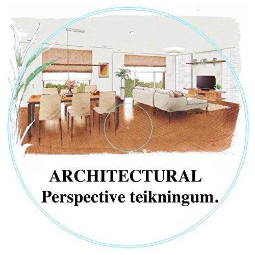 ARCHITECTURAL Perspective teikningum. (Icelandic Edition)
