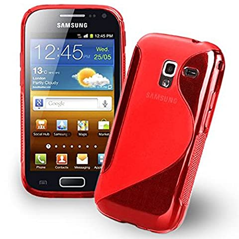 Etui Samsung Galaxy Ace 2 I8160 - VCOMP® Housse Etui Coque souple silicone gel