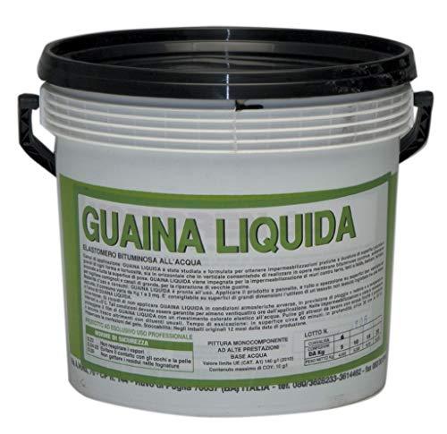 1PZ GUAINA LIQUIDA BITUMINOSA NERA KG. 5