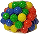 100 Multi Coloured Play BallsP