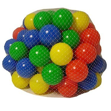 Chad Valley 100 Multi Coloured Play Balls