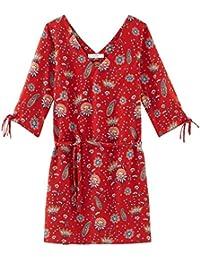 Promod Kleid mit V-Ausschnitt