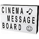 ITingjoy la libre association cinématographique boîte à lettres et led format a4