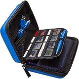 Brendo NEUF Nintendo 2DS XL, 3DS XL et 3ds Housse de transport avec 24supports de...
