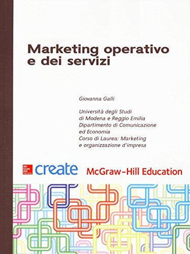 Marketing operativo e dei servizi