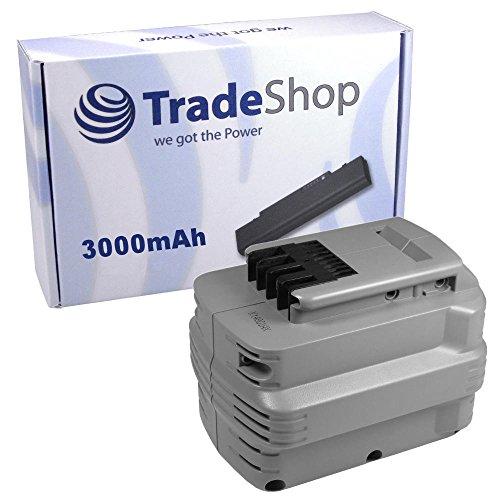 Preisvergleich Produktbild Hochleistungs Ni-MH Akku 24V / 3000mAh für Dewalt DW006KH DW007 DW007C2 DW007K DW007K-2 DW007KH DW007K-XE DW008K DW008K-2 DW008KH DW008K-XE DW017 DW017K2 DW017K2H DW017N