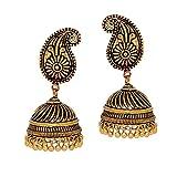 Jaipur Mart Gold Tone Oxidised Gold Plat...