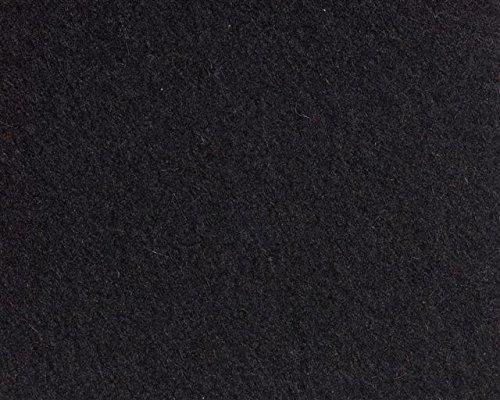 Pantoffel aus Filz (100% Wolle) von i.Punkt, Größe 37/38 Schwarz