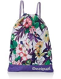 Desigual BOLS_GYM Sack G, Bolsa de Medio Lado para Mujer, Morado (3168 Purple Opulence), 15x42x29 cm (B x H x T)