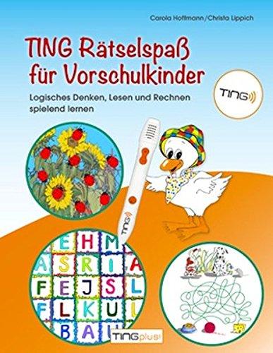 Produktbild bei Amazon - TING Rätselspaß für Vorschulkinder: Logisches Denken, Lesen und Rechnen spielend lernen