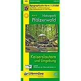Naturpark Pfälzerwald /Kaiserslautern und Umgebung (WR): Naturparkkarte 1:25 000 mit Wander- und Radwanderwegen (Freizeitkarten Rheinland-Pfalz 1:15000 /1:25000)
