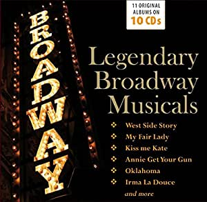 Legendary Broadway Musicals [Import allemand]