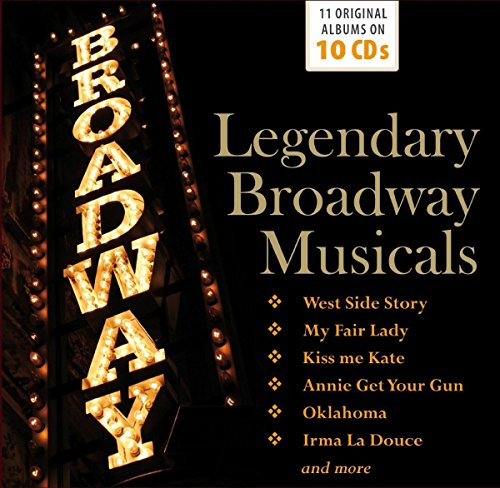 Legendary Broadway Musicals (Broadway Musicals-box-set)