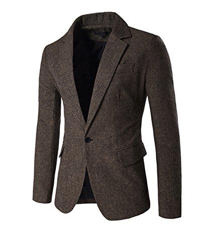 mens-herringbone-smart-casual-blazer-single-breasted-one-button-jacket-coat