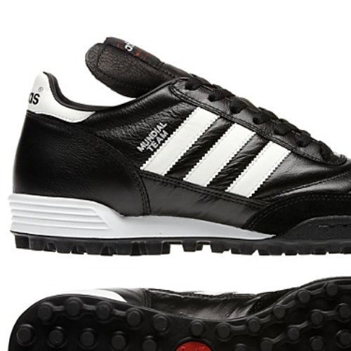 adidas Mundial Team  Unisex Adults    Footbal Shoes  Black  Black running White Ftw red   4 UK  36 2 3 EU